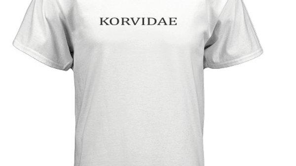 Korvidae Customs First Edition White T