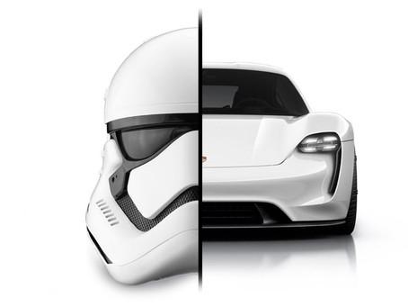 Porsche Designs the Next Star Wars Spaceship
