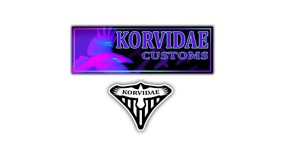 First Edition Korvidae Sticker Pack