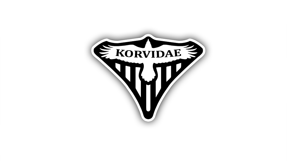 Official Korvidae Crew Logo (FIRST EDITION)