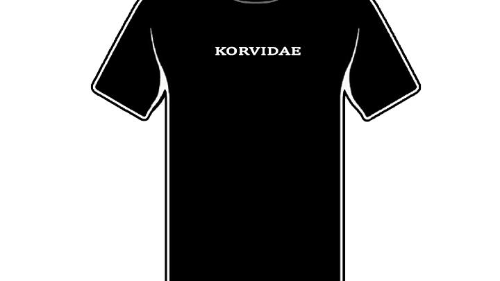 Korvidae Customs Black T (FIRST EDITION)