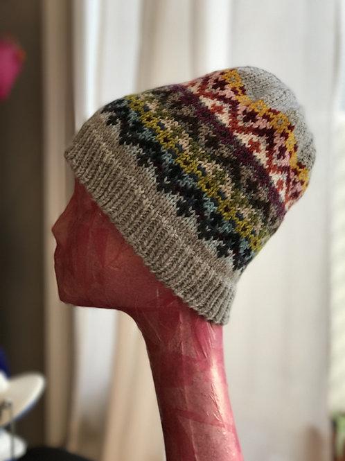 Fair Isle hat kit