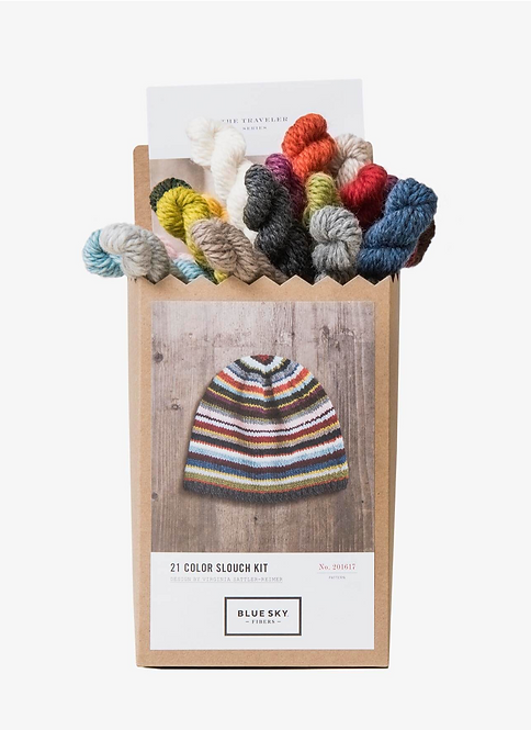 21 color slouch kit