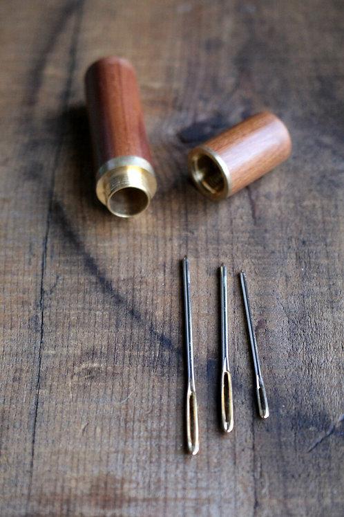 Wooden Darning Needle Set