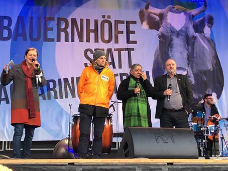 Bio-Politischer Jahresauftakt in Berlin