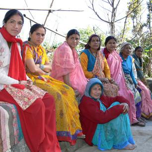 Frauen im Projekt Himalaya-Inhere.JPG