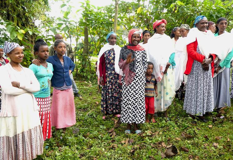 Ethiopian women in the region of KafaJPG
