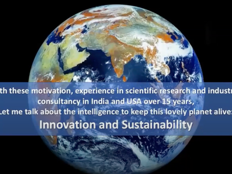 EGA: Dr Sarit Das speaks about Innovation & Sustainability