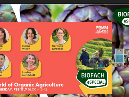 The online premiere: Biofach and Vivaness eSpecial