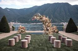 Villa-Balbiano-Lake-Como-Haute-Couture-Pink-Sara-Mrad-Wedding-Dress-Lilly-Red-81