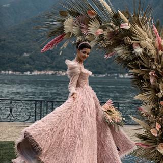 Villa-Balbiano-Lake-Como-Haute-Couture-Pink-Sara-Mrad-Wedding-Dress-Lilly-Red-96.jpg