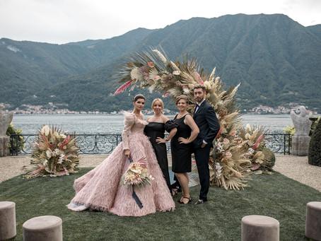 Allestimento Floreale Matrimonio Como - Villa Balbiano