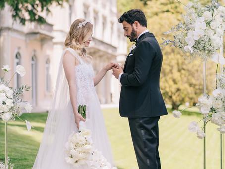 Allestimento Floreale Matrimonio Como - Villa del Grumello