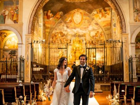 Allestimento Floreale Matrimonio Bergamo - Relais San Vigilio