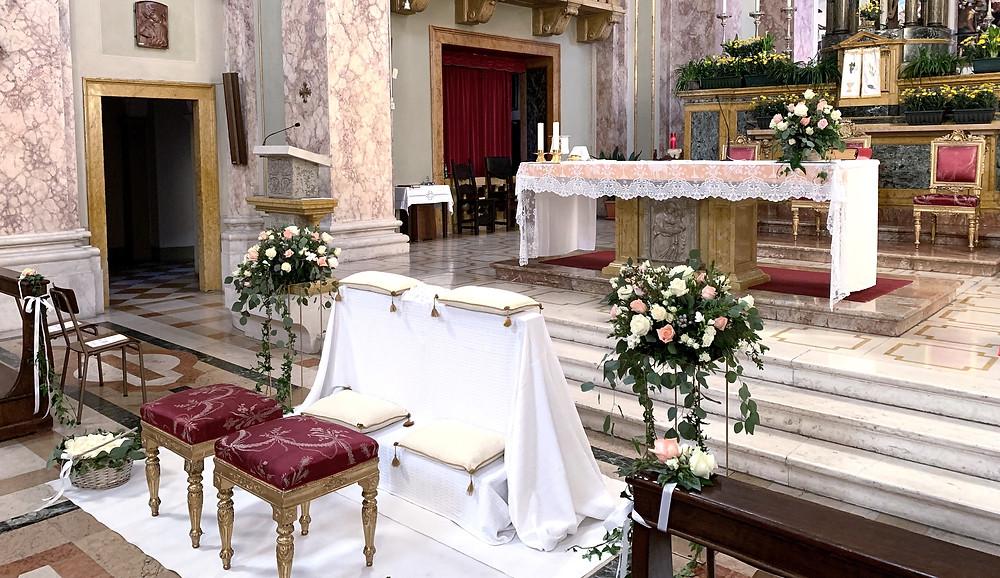 Allestimento Floreale Matrimonio Bergamo - Città Alta