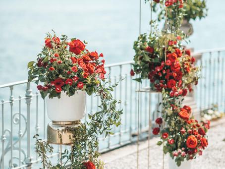 Allestimento Floreale Matrimonio Como - Grand Hotel Imperiale