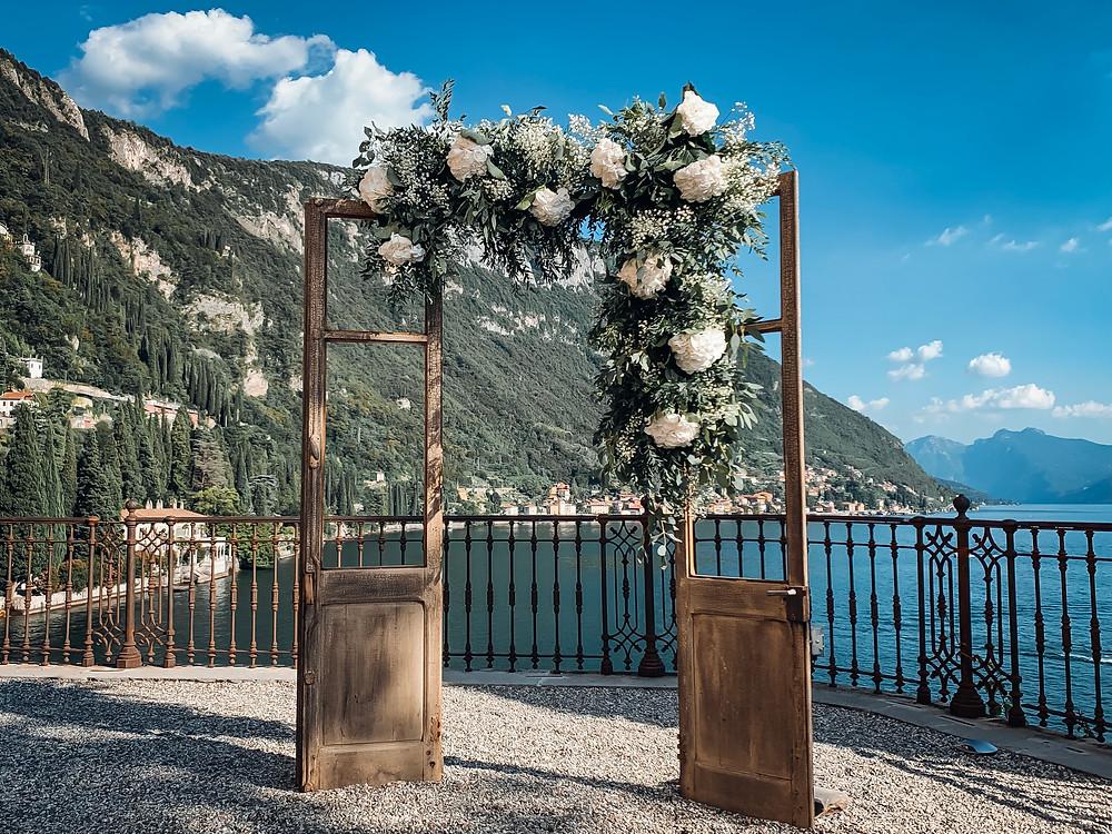 Allestimento Floreale Matrimonio Villa Cipressi