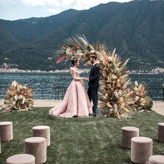 Villa-Balbiano-Lake-Como-Haute-Couture-Pink-Wedding-Dress-Lilly-Red-sneak-peek-p2--18.jpg