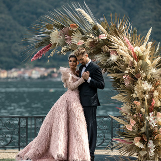 Villa-Balbiano-Lake-Como-Haute-Couture-Pink-Sara-Mrad-Wedding-Dress-Lilly-Red-92.jpg