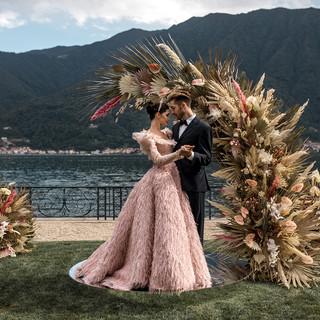 Villa-Balbiano-Lake-Como-Haute-Couture-Pink-Sara-Mrad-Wedding-Dress-Lilly-Red-89.jpg
