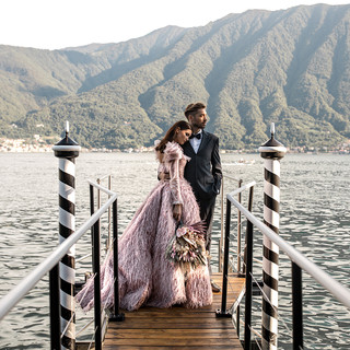 Villa-Balbiano-Lake-Como-Haute-Couture-Pink-Wedding-Dress-Lilly-Red-6.jpg