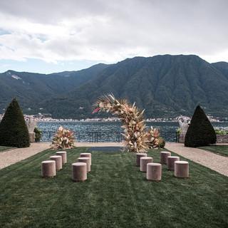 Villa-Balbiano-Lake-Como-Haute-Couture-Pink-Sara-Mrad-Wedding-Dress-Lilly-Red-79.jpg