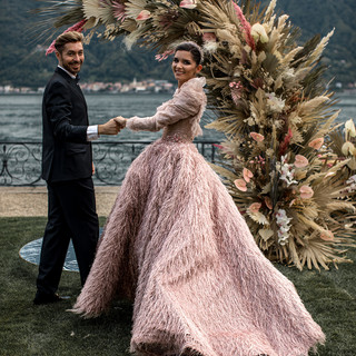 Villa-Balbiano-Lake-Como-Haute-Couture-Pink-Sara-Mrad-Wedding-Dress-Lilly-Red-99.jpg