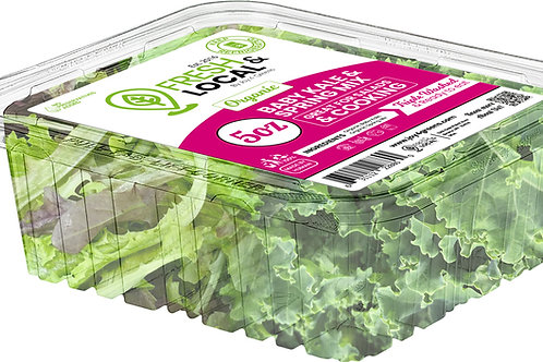 Baby Kale and Spring Mix 5oz