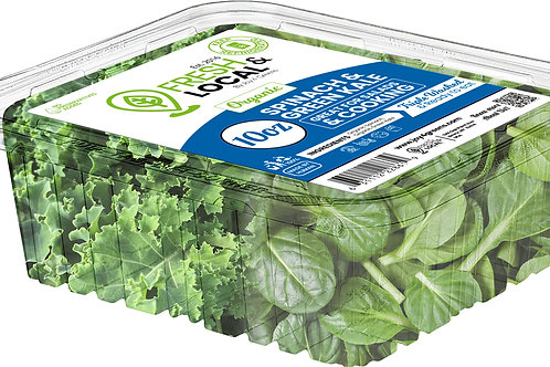 Spinach and Green Kale 10oz
