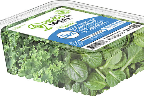 Baby Spinach and Green Kale 5oz