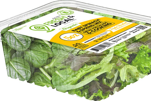 Baby Spinach and Spring Mix 5oz