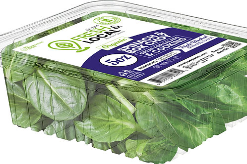 Spinach and Bok Choy 5oz