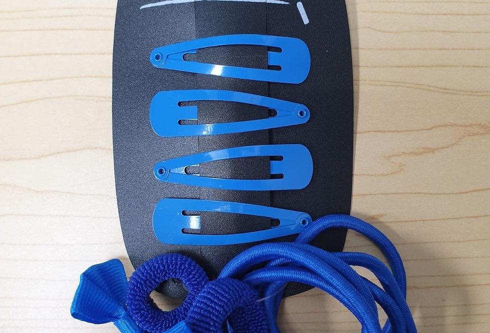 Bows Clips & Bobbles - Blue
