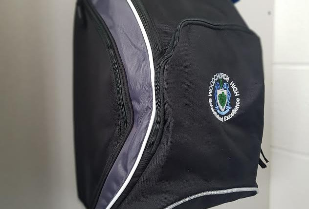 Woodchurch High School backpack