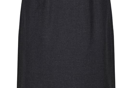 Trutex Back Vent Skirt - Grey