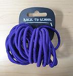 25 Endless Elastic Bobbles - Purple