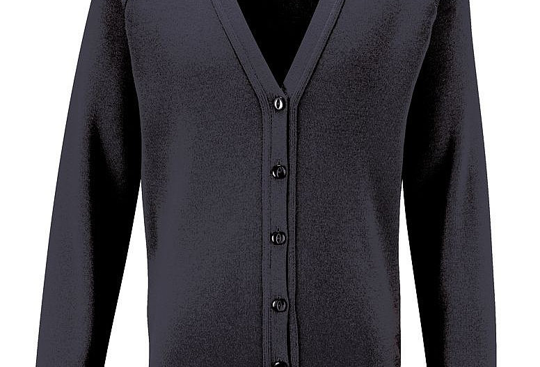 Black Knitted Cardigan (Barnston)