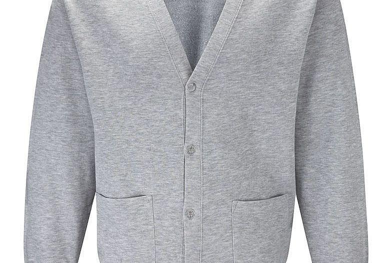 Grey Sweat Cardigan (Black Horse Hill Infants)