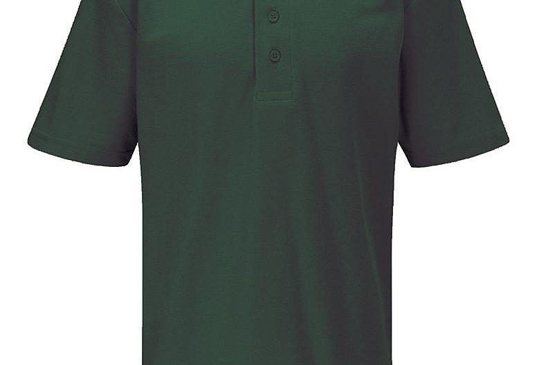 Bottle Green Polo Shirt (Holy Trinity)
