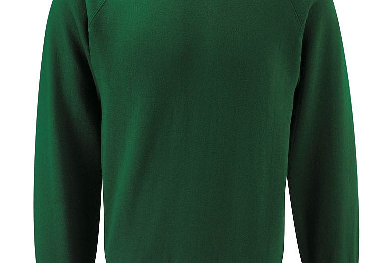 Bottle Green Sweatshirt (Overchurch Junior)