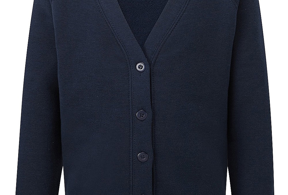 Navy Sweat Cardigan (Devonshire Road DPPS)