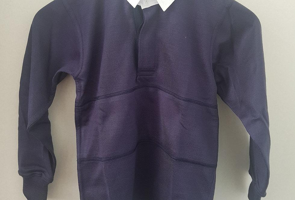 Navy Rugby Shirt (Woodchurch High)