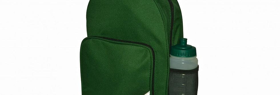 Bottle Green Infant Backpack