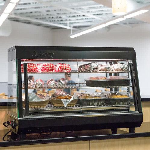 "26"" Self Service 3 Shelf Countertop Heated Display Warmer"