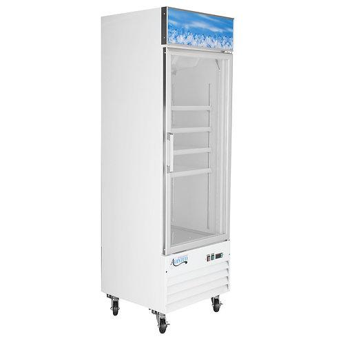 """Glass door display freezer - 27 1/8"""" wide"""