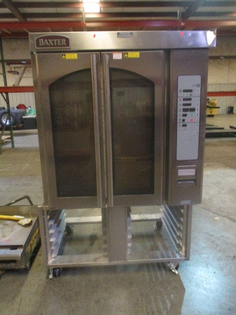 Baxter OV310E Mini Rotating Rack Oven w/Stand