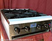 STRATUS - HOT PLATES - Availabe in 1, 2, 3, 4, 6, or 8 burners