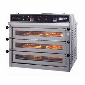 "37¼"" Pizza Oven Triple Deck Electric Counter Top"