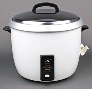 30 CUP COMMERCIAL RICE COOKER AND WARMER - NSF