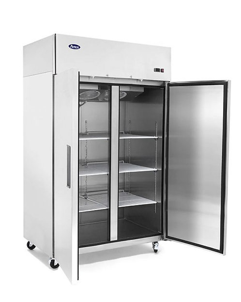 2 door upright freezer - TOP MOUNT